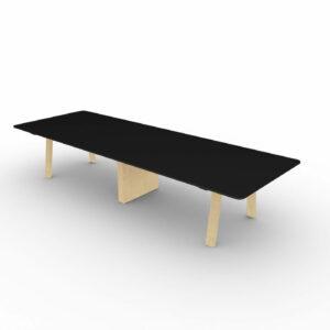 Konferenztisch-Take-off-Country-Tischplatte-Schwarz