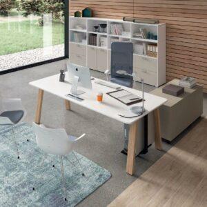 Schreibtisch-Take-Off-Country-Tischplatte-Weiss