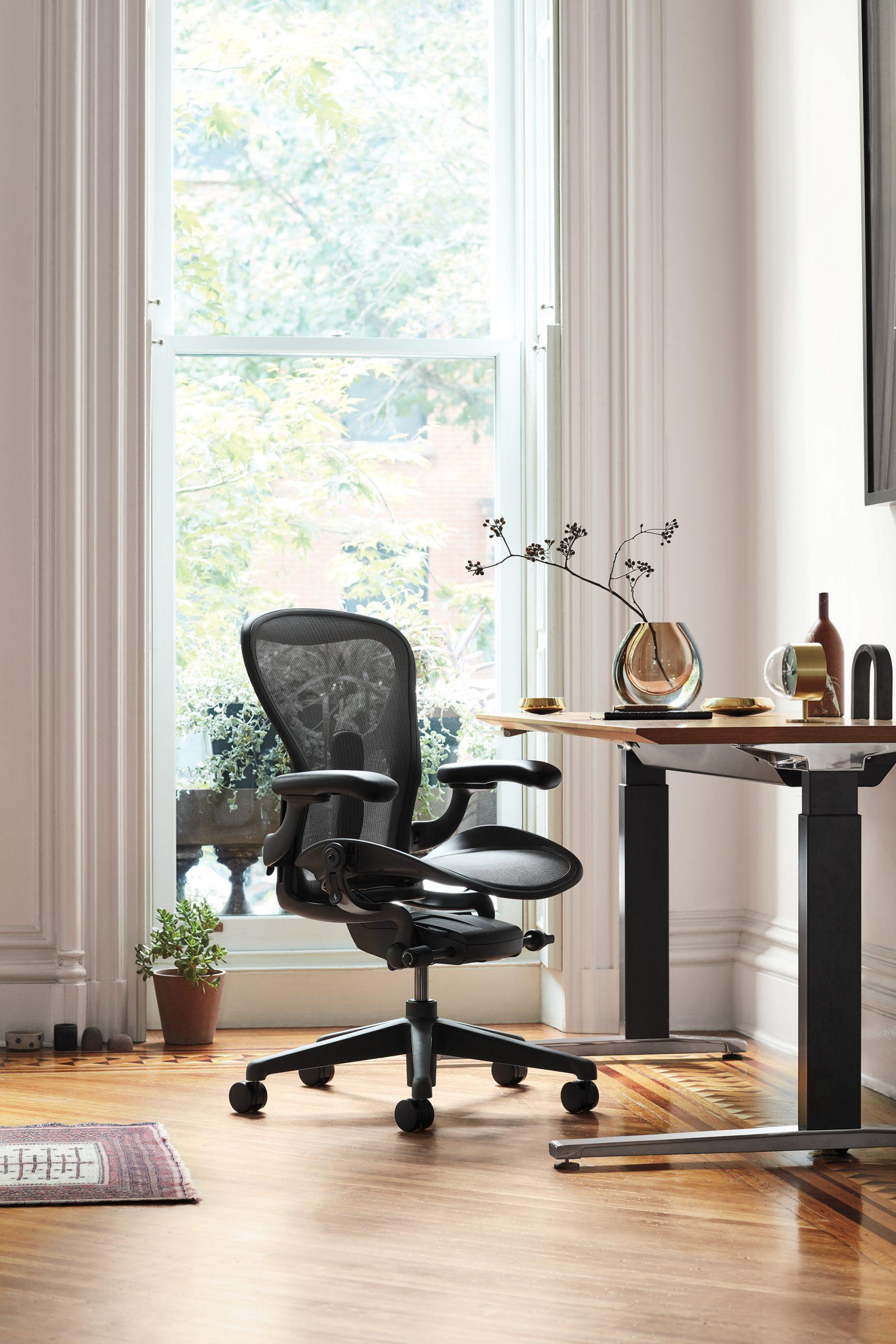 Ergonomischer Bürostuhl- Wirken Sie Schäden durch eine falsche Sitzhaltung entgegen ! Hermann Miller - Aeron
