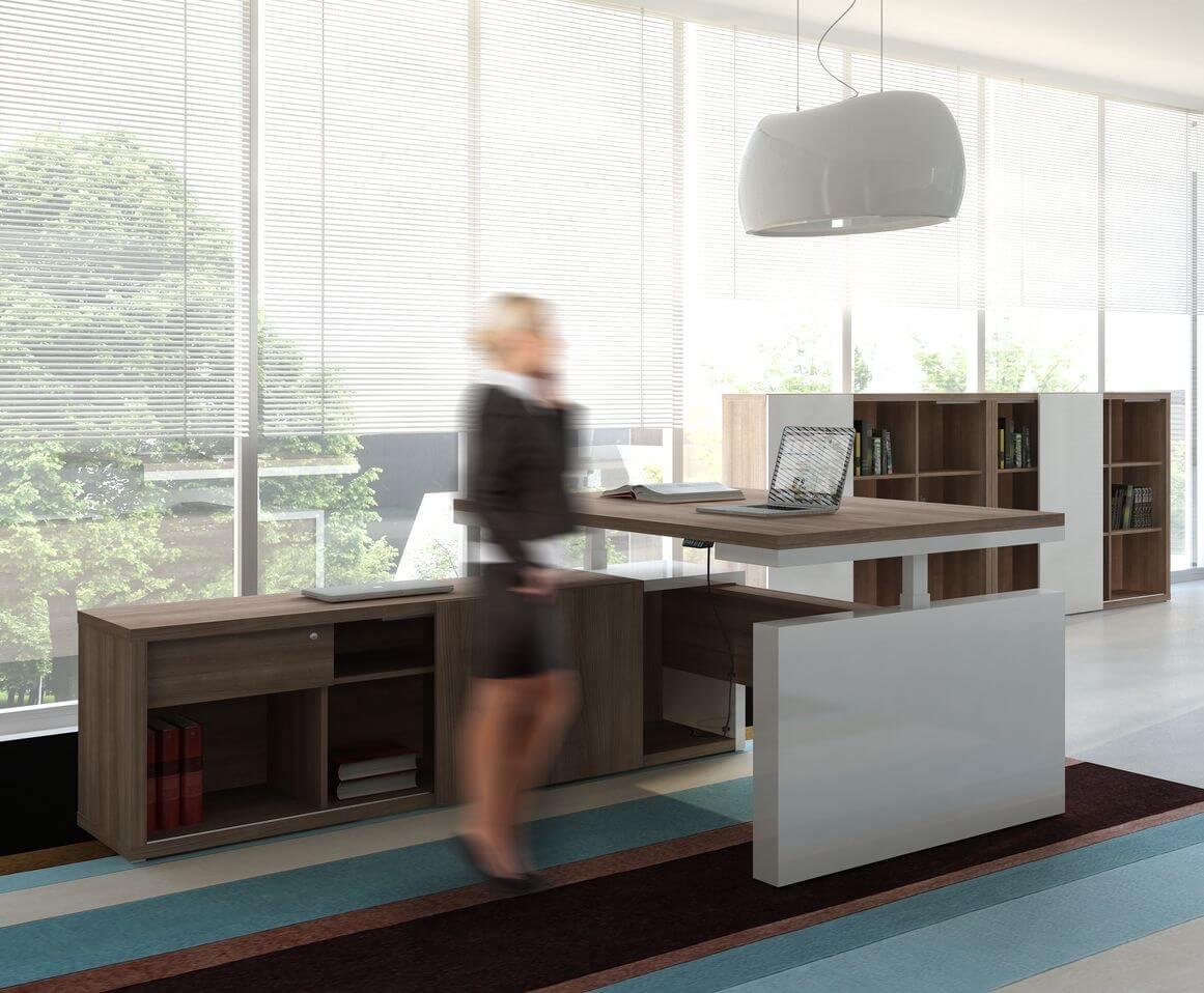 Höhenverstellbarer Schreibtisch Faro