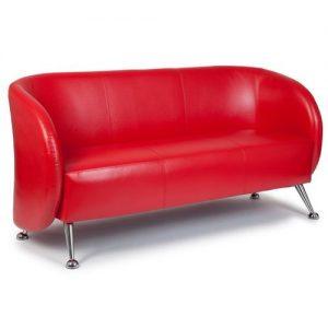 Loungesofa Belize 3-Sitzer rot1