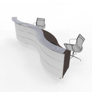 Design-Empfangstheke, Wellenform